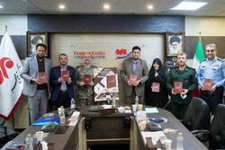 """وكالة مهر للأنباء تكشف النقاب عن كتاب """"ابن تفتان""""/ بالصور"""