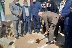 کلنگ احداث مرکز قلب بیمارستان ساوه به زمین زده شد