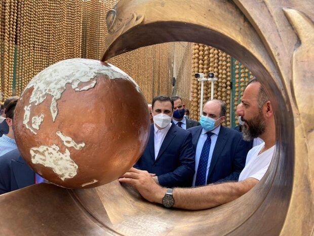 آغاز به کار پاویون ایران در اکسپو/پرواز سیمرغ و روایتگری شهرزاد