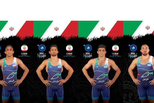 4 Iranians advance to semis of world wrestling c'ships