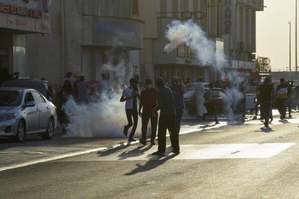 تداوم تظاهرات بحرینی ها علیه سفر وزیر خارجه رژیم صهیونیستی