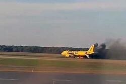 طائر يتسبب في احتراق محرك طائرة أمريكية أثناء محاولتها الإقلاع