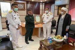 Navy displayed its capabilities in international waters