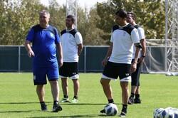 تمرین تیم ملی فوتبال ایران - دراگان اسکوچیچ