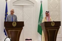 وزير الخارجية السعودي: نأملان تفضي المحادثات مع ايران إلى حل القضايا العالقة بين البلدين
