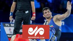 ایرانی پہلوان یزدانی ، امریکہ کو شکست دیکر عالمی چیمپئن بن گئے