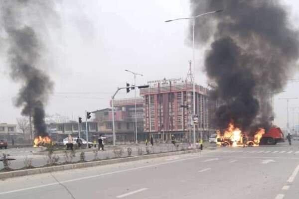 کابل میں ایک عیدگاہ کے قریب بم دھماکے میں 12 افراد ہلاک متعدد زخمی