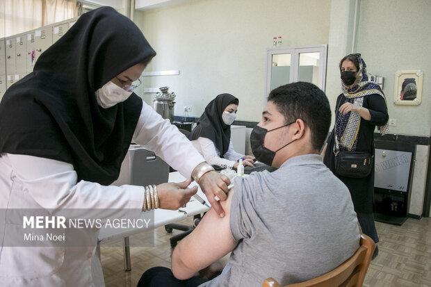 ۲۲ مهر؛ آخرین مهلت برای واکسیناسیون دانش آموزان خوزستانی