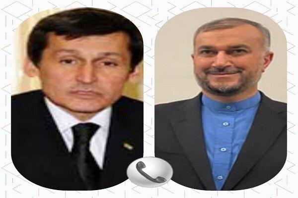 Iran FM, Turkmen counterpart discuss closer ties