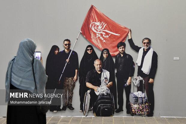 Photo exhibition of Arbaeen in Tehran
