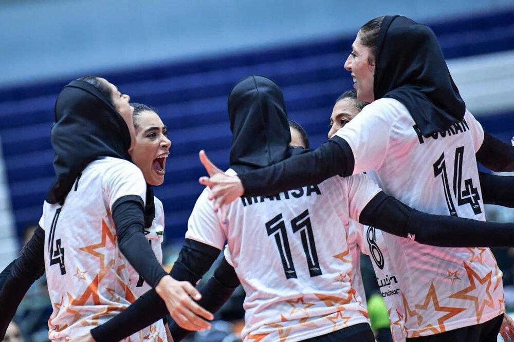 تیم والیبال بانوان سایپا در رده چهارم آسیا قرار گرفت