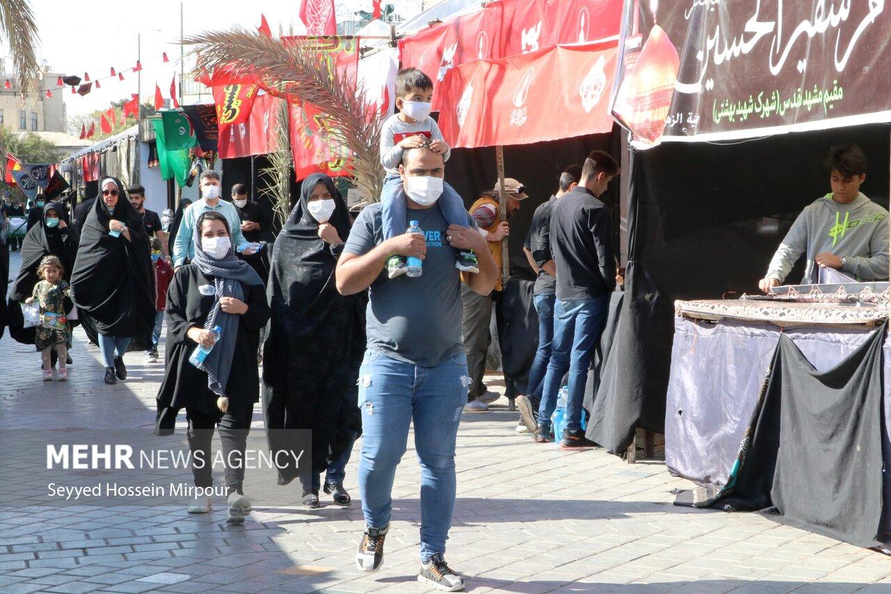 В Мешхеде открыты места обслуживания паломников ФОТО