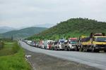 ورود کامیون های ایرانی به قره باغ ممنوع شد