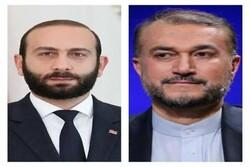 وزير الخارجية الأرميني يتوجه إلى طهران