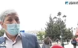 Azerbaycanlı vatandaştan provokatif 'İran' sorusuna tokat gibi yanıt