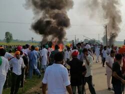 اترپردیش میں کسانوں کے احتجاج کے دوران 8 افراد ہلاک ہوگئے