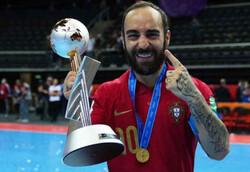 کاپیتان تیم ملی فوتسال پرتغال؛ از بیمارستان تا قهرمانی در جامجهانی