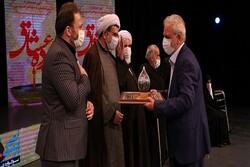 تجلیل از پیرغلامان و مفاخر حسینی در برنامه «پرده عشاق»