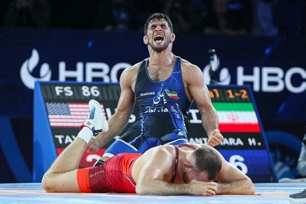 Ghasempour wins Iran's 3rd gold at World Wrestling C'ships