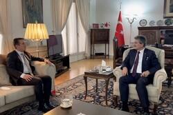 Azerbaycan'ın yeni Tahran Büyükelçisi, Türk Büyükelçi ile görüştü