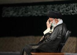 اقامة مراسم العزاء بوفاة الرسول الاعظم (ص) بحضور قائد الثورة/ بالصور
