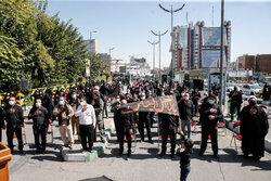 Tahran'daki 28 Safer matem töreninden kareler