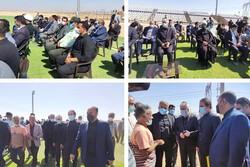 بازدید وزیر ورزش و جوانان از پروژه استادیوم ۵ هزار نفری پیشوا