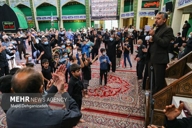 مراسم عزاداری رحلت پیامبر (ص) و شهادت امام حسن مجتبی(ع) در یزد