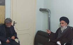 گفتگوی سردار قاآنی با آیتالله حسینی خراسانی درباره تحولات منطقه