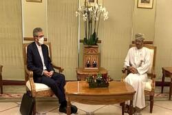 Iran deputy FM meets with Omani FM in Muscat
