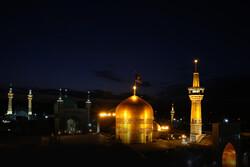 İran'da Hz. İmam Rıza (a.s) için matem merasimi