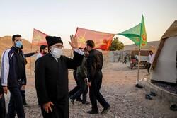 بازدید تولیت آستان قدس رضوی از روند خدمترسانی به زائران پیاده