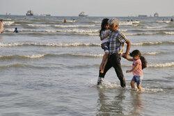 Ekim ayında İran'ın güneyinde deniz keyfi