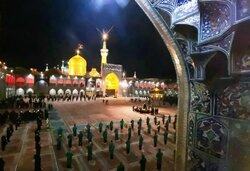 اقامة مراسم عزاء ذكرى استشهاد الامام رضا (ع) في العتبة الرضویة/ بالصور