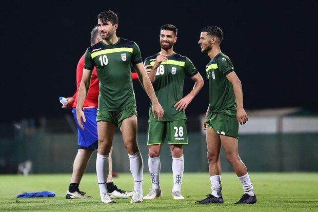 Team Melli training session before qualifier vs South Korea