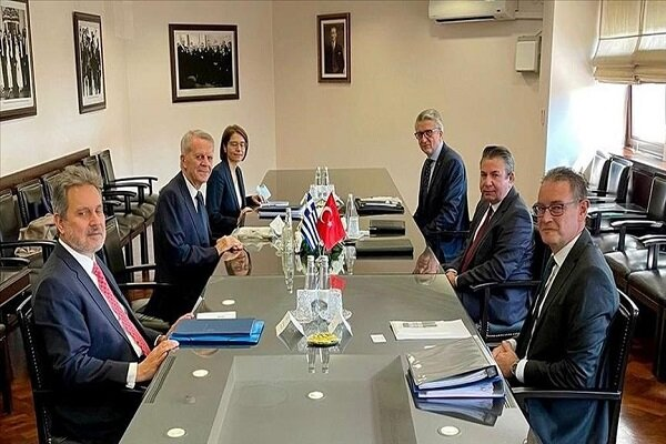 شصت و سومین دور از مذاکرات مشورتی ترکیه و یونان پایان یافت