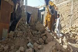 ۳۲۰ کشته و زخمی در پی زمین لرزه ۵.۹ ریشتری در بلوچستان پاکستان
