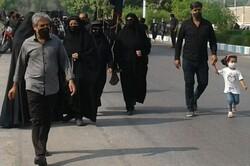 مراسم پیاده روی حرم تا حرم در بوشهر برگزار شد