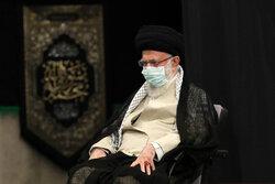 رہبر معظم کی موجودگي میں حضرت امام رضا (ع) کی شہادت کی مناسبت سے مجلس عزا منعقد