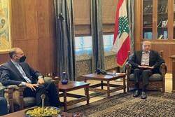 Iran FM Amir-Abdollahian meets with Lebanese Parl. Speaker