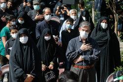 Tahran'da Hz. İmam Rıza (a.s) için matem merasimi