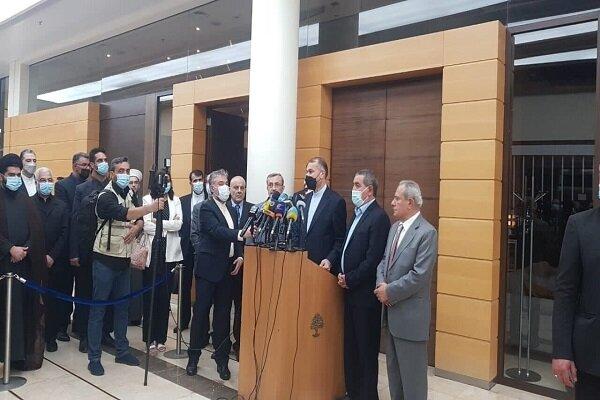 Dışişleri Bakanı Emir Abdullahiyan Beyrut'ta