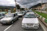 ترافیک سنگین صبحگاهی در آخرین شنبه مهرماه