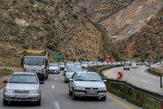 ترافیک در هراز نیمه سنگین است/ انجام اولین برفروبی پاییزی