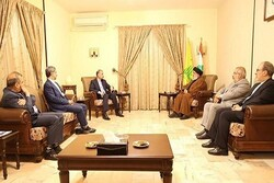 Emir Abdullahiyan Beyrut'ta Hasan Nasrullah ile görüştü
