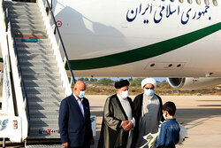 Raisi's visit to Bushehr