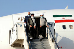 President Raeisi arrives in Bushehr Province