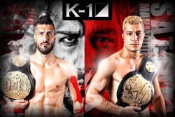Attractive fight between 2 Iranian kickboxing stars in Japan