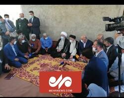نشست صمیمانه رئیس جمهور و وزرا با کشاورزان بوشهری