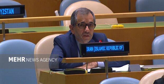 Iran UN envoy warns against any new Israeli adventurism